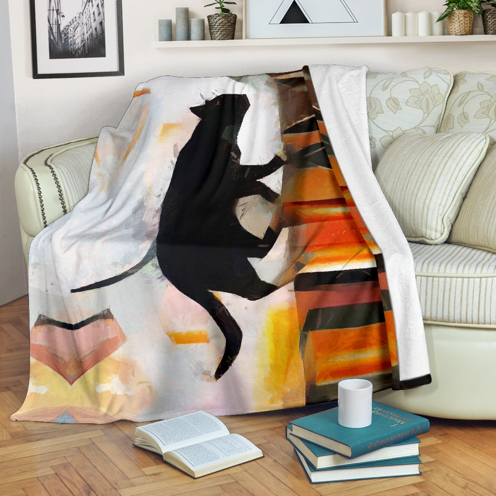 Roof Cat Blanket