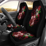 Whisper Skull Car Seat Covers - Hello Moa