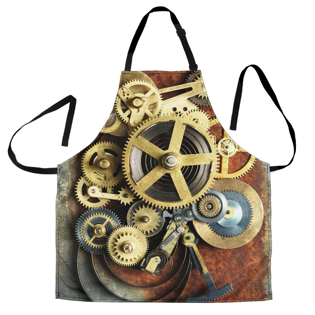 Rusted Gear Apron - Hello Moa