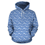 Blue Horses Hoodies