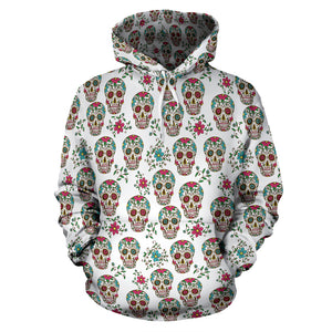White Skull Hoodies