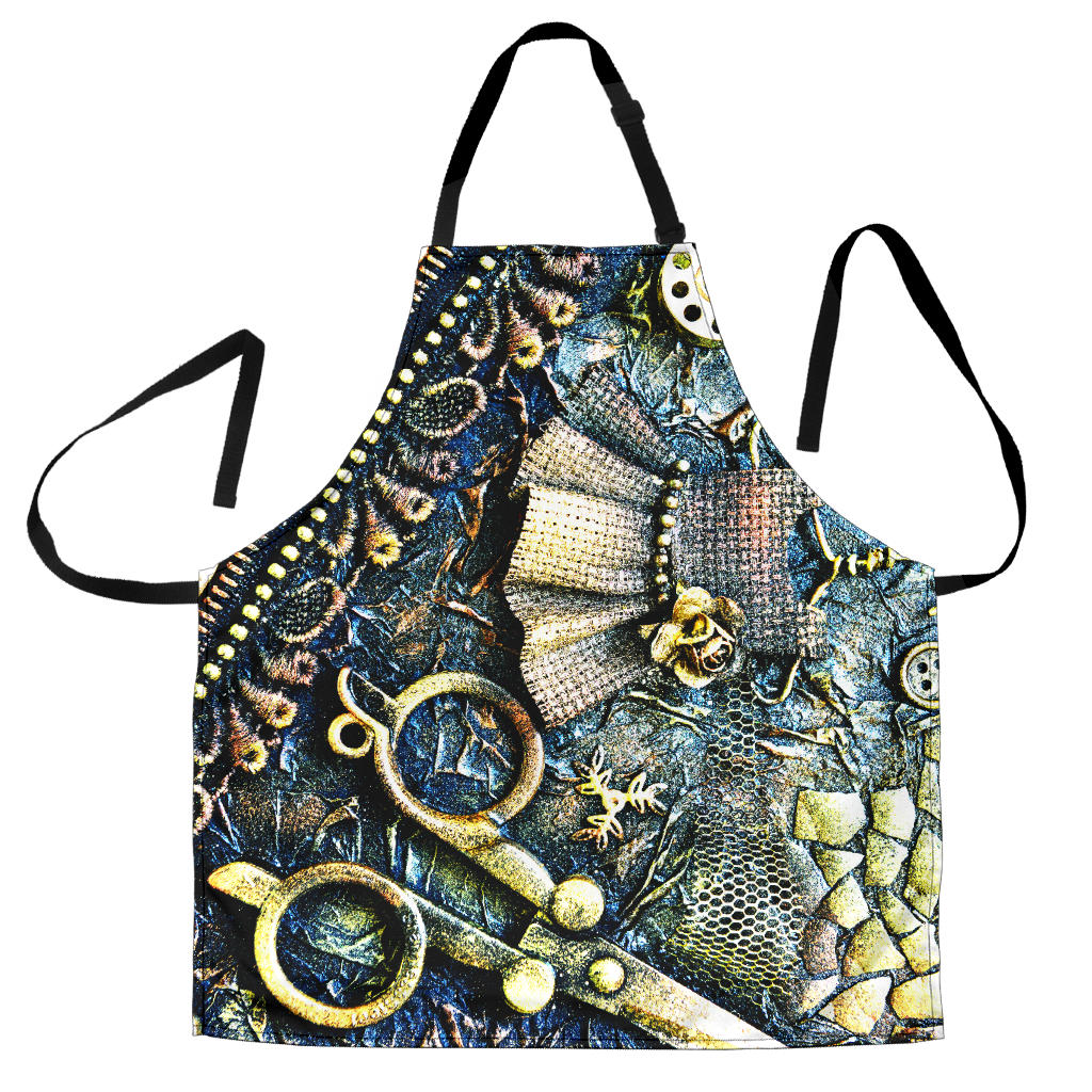 Steampunk Scissors Apron - Hello Moa