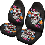Splash Sugar Skull Car Seat Covers - Hello Moa