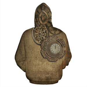Rusted Clock Hoodies - Hello Moa
