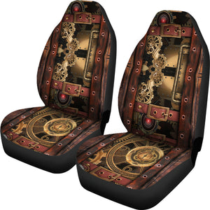 Steampunk Car Seat Covers - Hello Moa