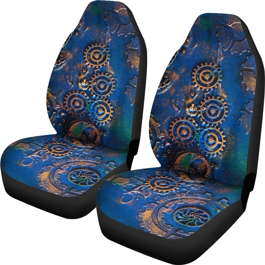 Blue Rust Car Seat Covers - Hello Moa