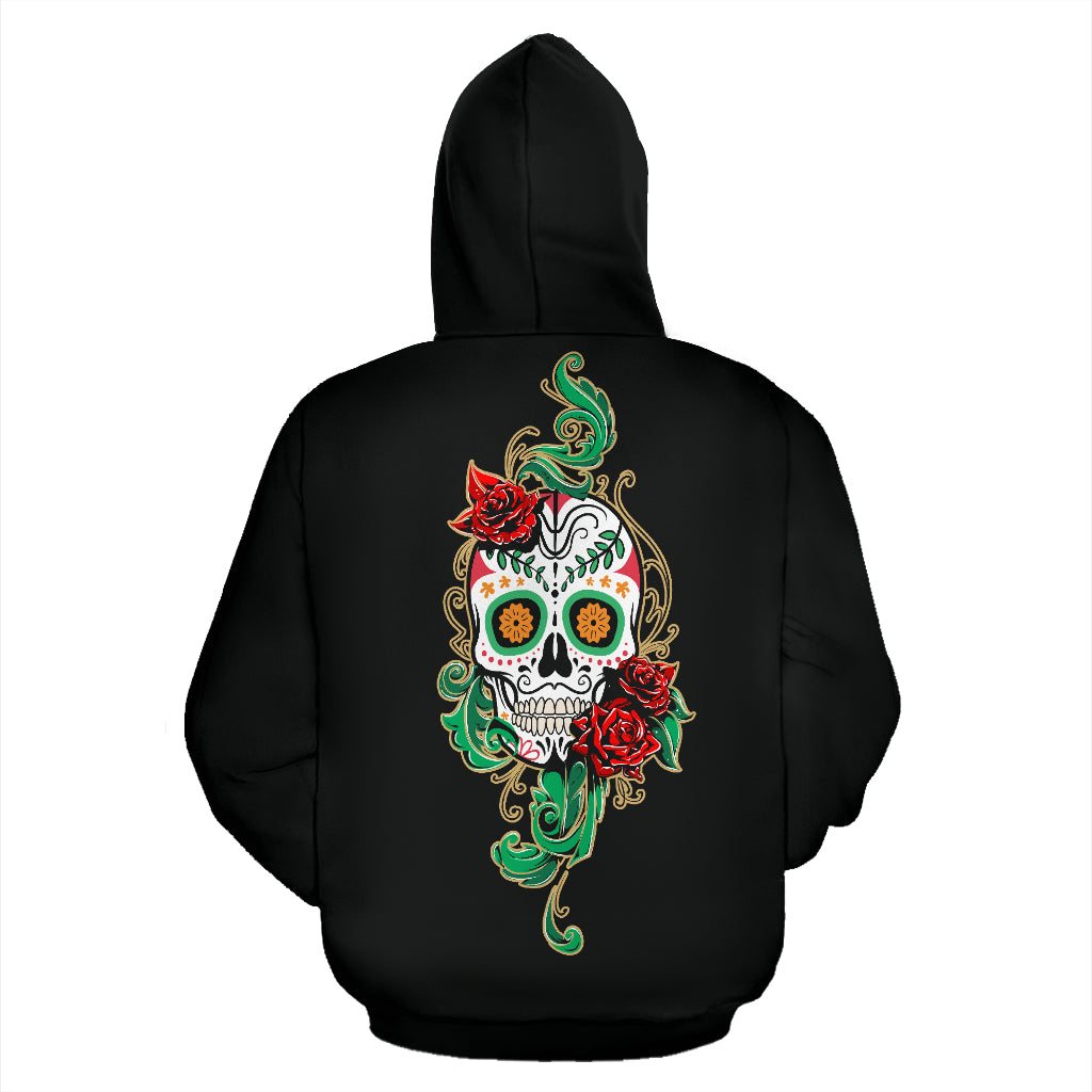 Sugar Skull Hoodies - Hello Moa