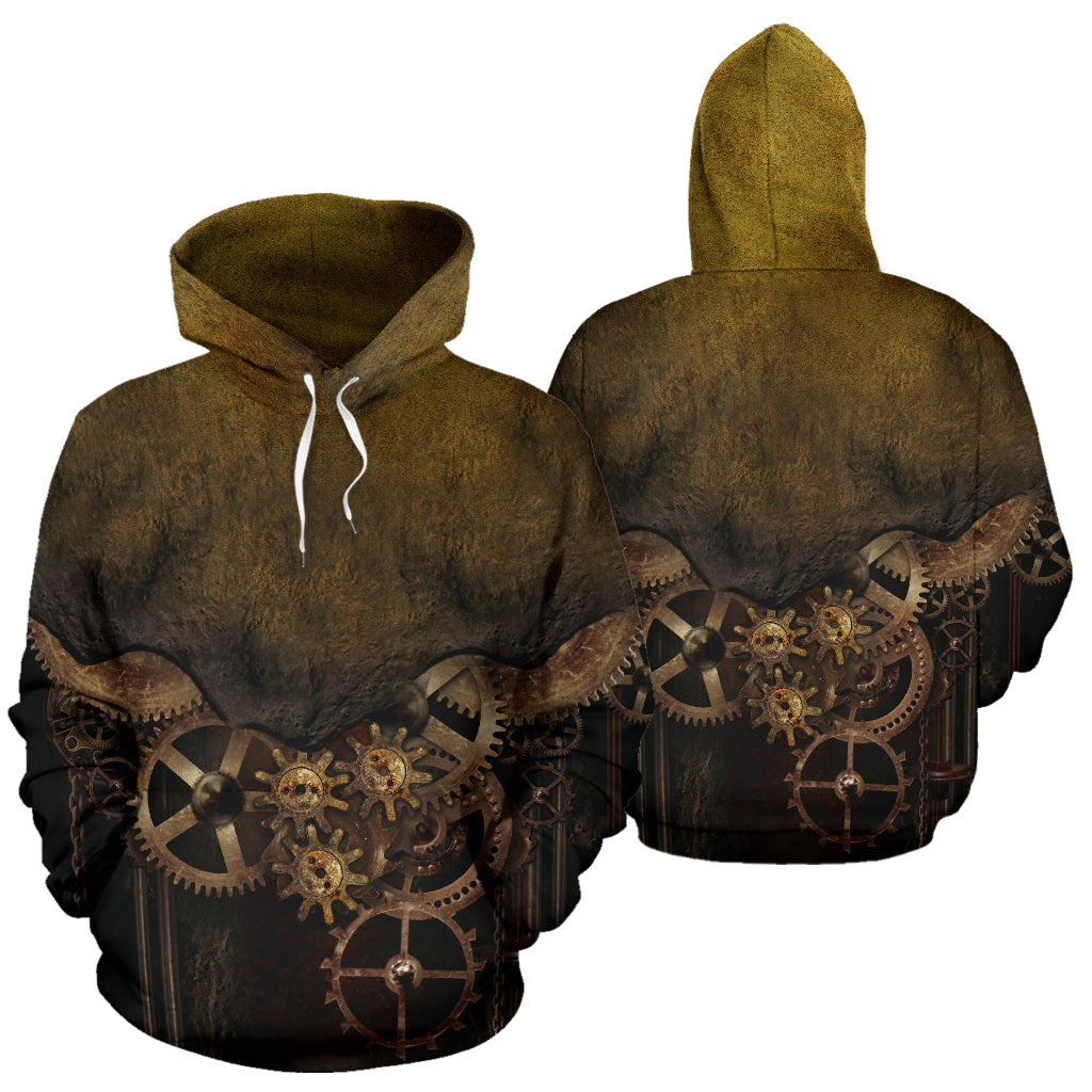 Rustic Steampunk Hoodies - Hello Moa
