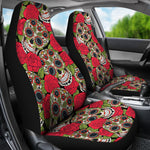 Rose Sugar Skull Car Seat Covers - Hello Moa
