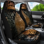 Art I Car Seat Covers - Hello Moa