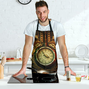 Piston Clock Apron - Hello Moa