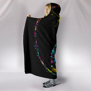 Night Yin Yang Hooded Blanket - Hello Moa