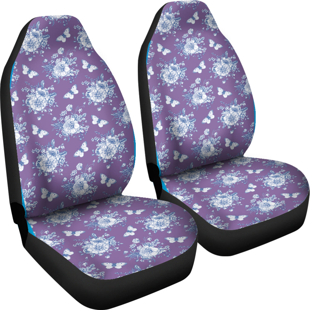 Victorian Purple Car Seat Covers