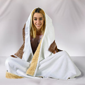 Hiding Cat Hooded Blanket - Hello Moa
