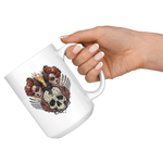Old Sugar Skull Coffee Mug - Hello Moa
