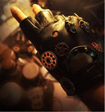 Vintage Steampunk Gear Gloves