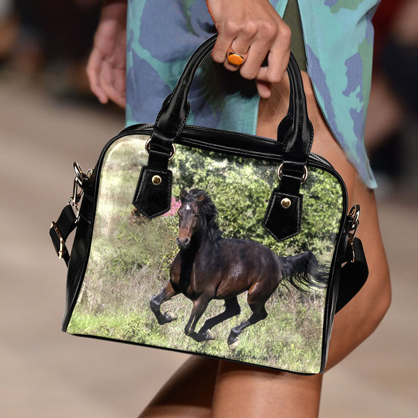 Horse On Grass Handbag