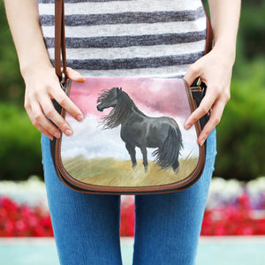 Art Horse Saddle Bag - Hello Moa