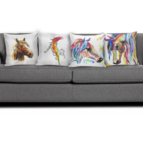 Horse Art II Pillow Covers