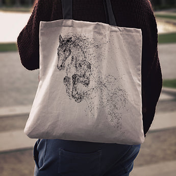 Horse Cloth Tote Bag