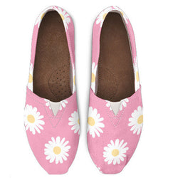 Pink Daisy Casual Shoe