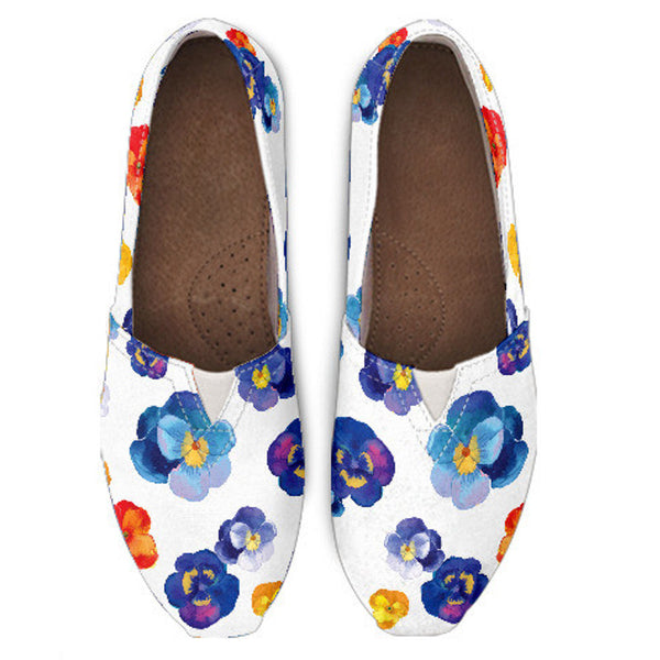 Pansy II Flower Casual Shoe