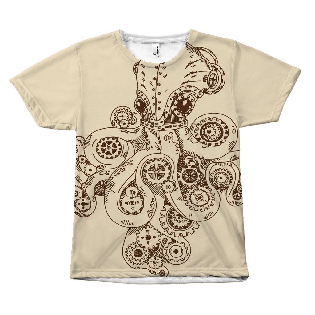 Octopus Steampunk Tees