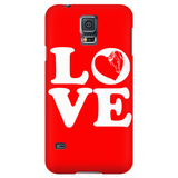 Red - Horse Love Cell Phone Case