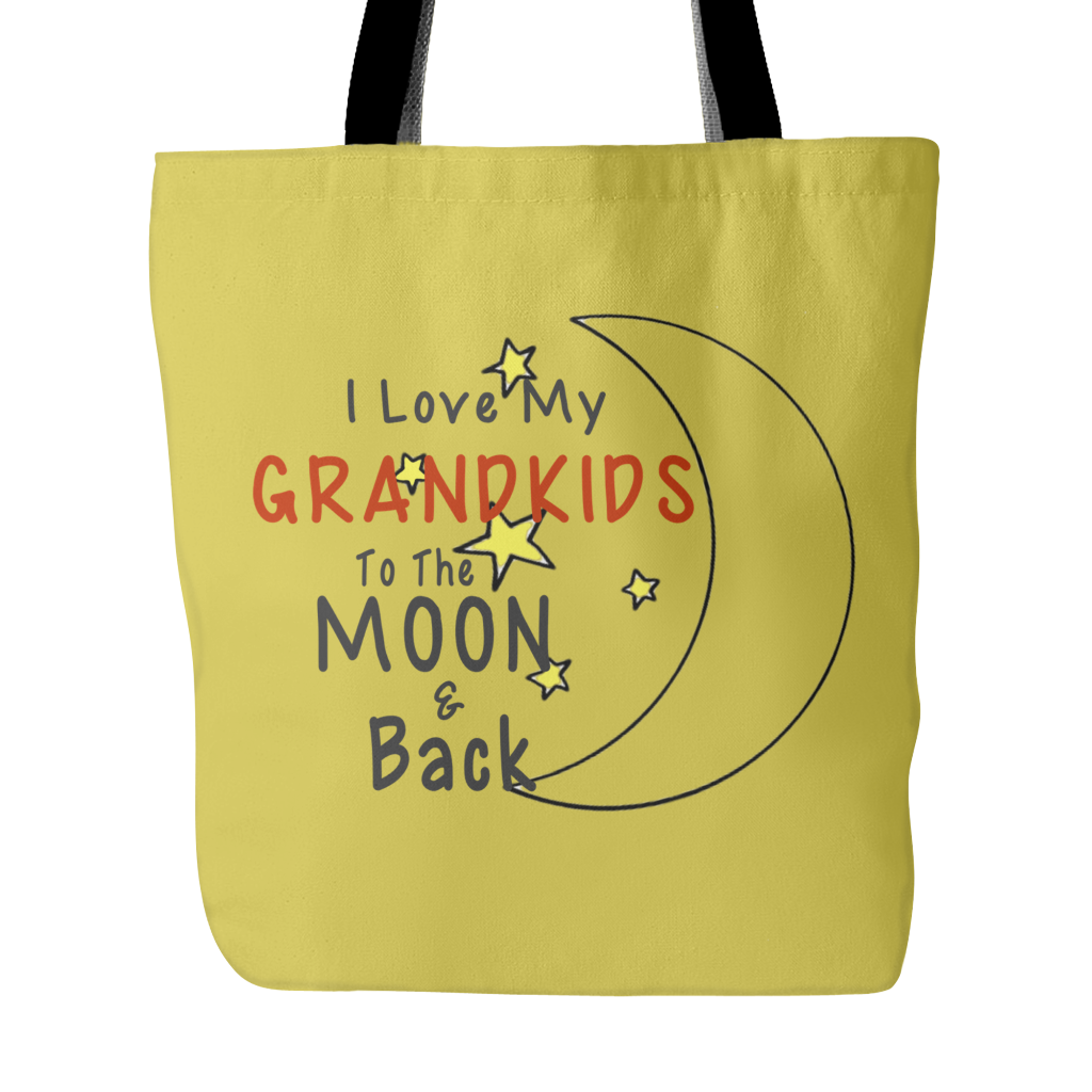 Love You To The Moon & Back Tote Bag
