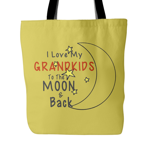 Image of Love You To The Moon & Back Tote Bag