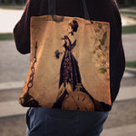 Steampunk Lady Cloth Tote Bag - Hello Moa
