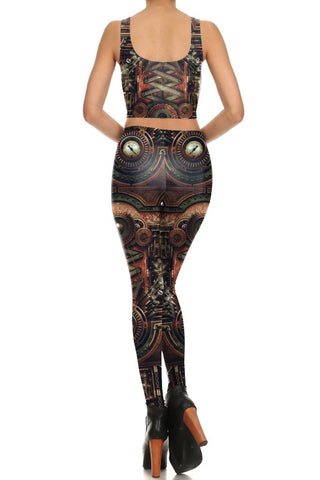 """Mechanic"" Steampunk Leggings, Tops or Outfits"