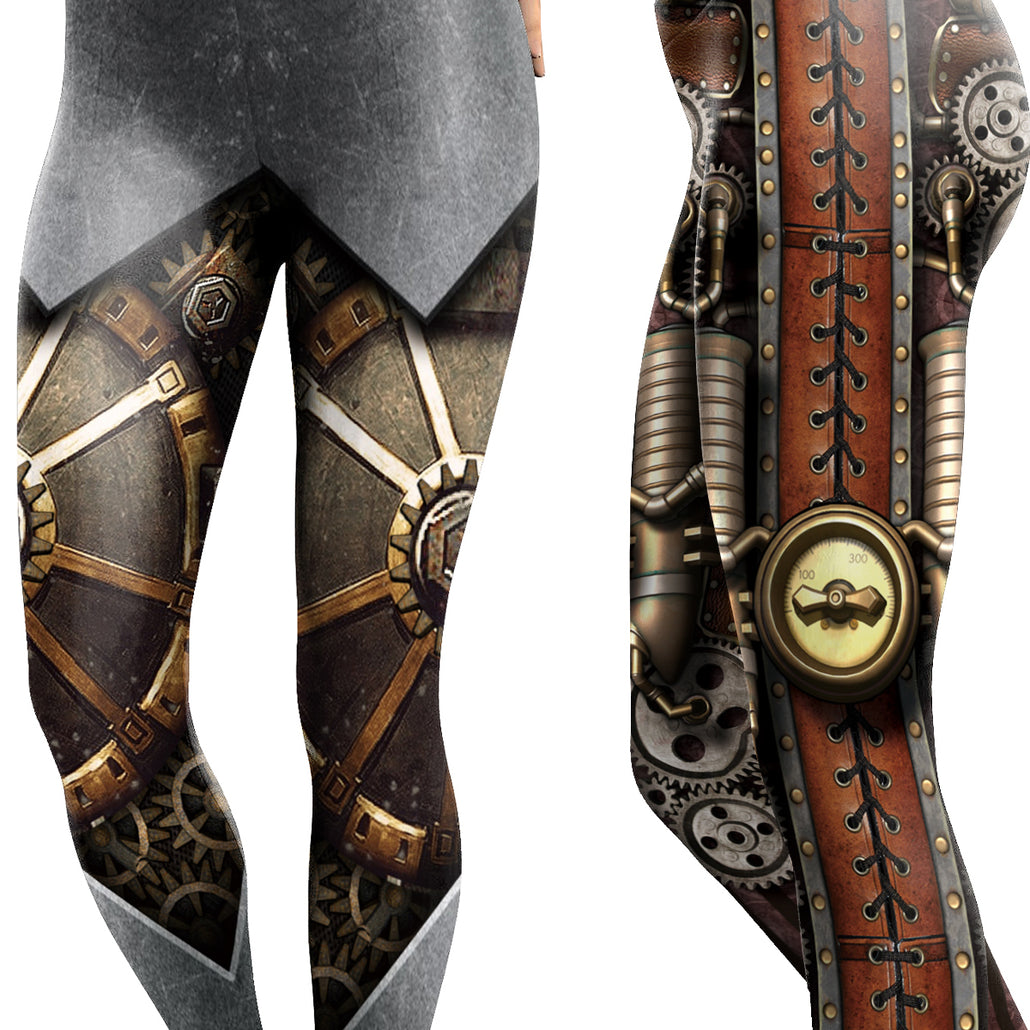 Steampunk Gear Leggings