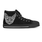 Cat Thread I Canvas Shoes - Hello Moa