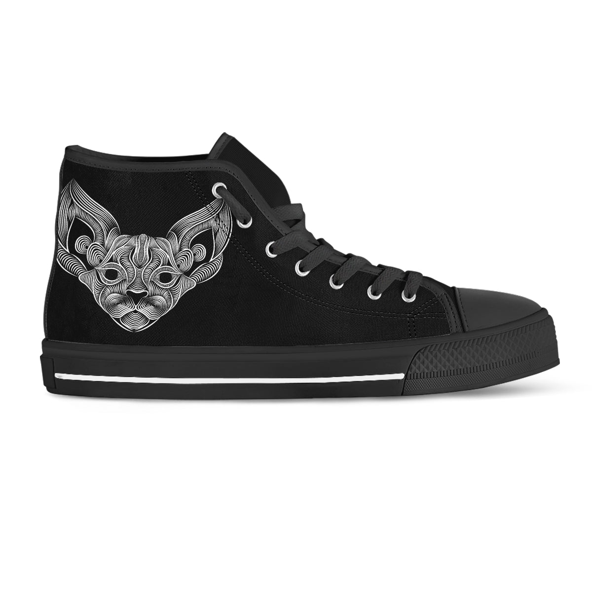 Cat Thread III Canvas Shoes - Hello Moa
