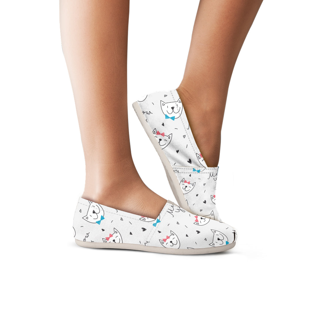 Meow You Cats Casual Shoes - Hello Moa