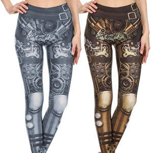Monochromatic Steampunk Leggings, Tops or Outfits - Hello Moa