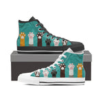 Cat Paws High Tops (Women's)