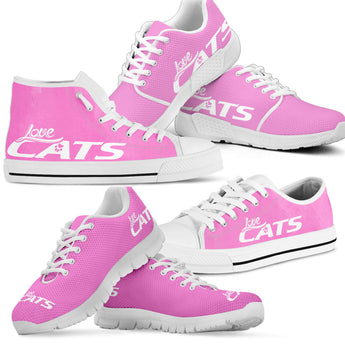 Love Cats Shoes (Pink)