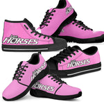 Love Horses Shoes Pink (Women's) - Hello Moa