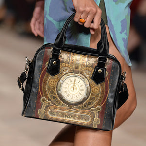 Piston & Clock Steampunk Handbag - Hello Moa