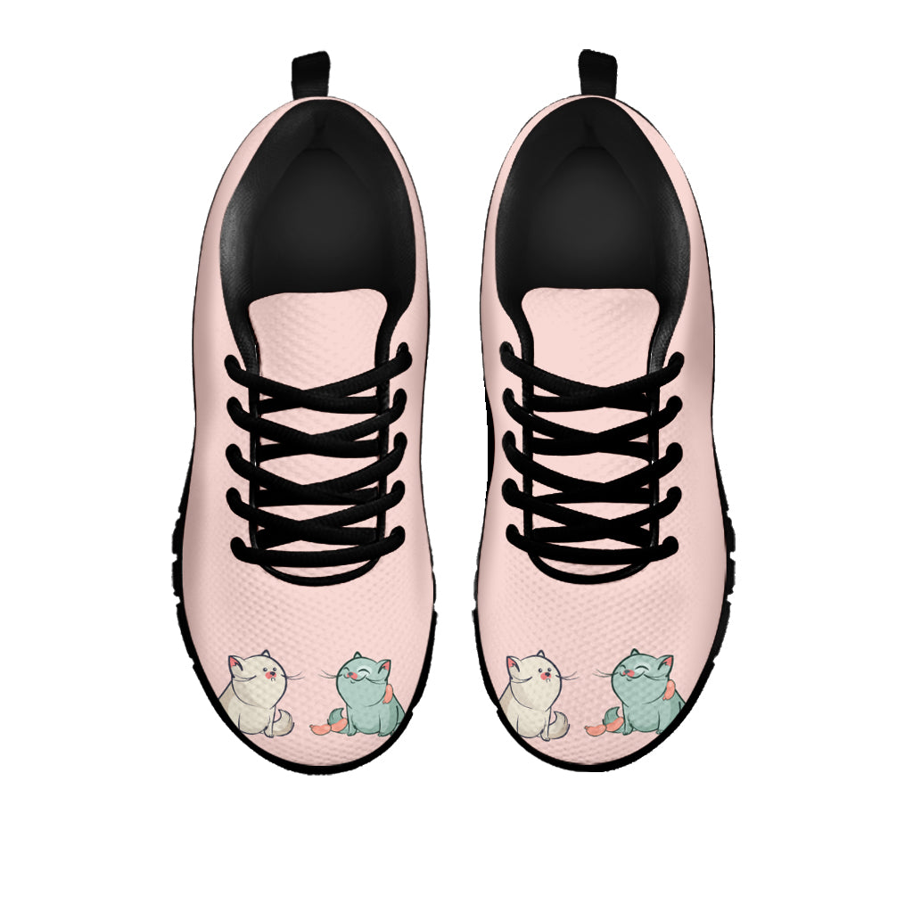Plump Cat Sneakers (Kids) - Hello Moa
