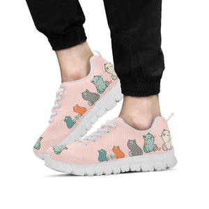Plump Cat Sneakers (Kids)