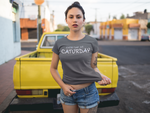 Every Day Is Caturday Tee (White) - Hello Moa