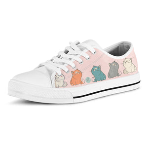 Plump Cat Lo Top Shoes - Hello Moa