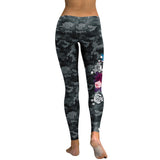 Camouflage Skull Leggings