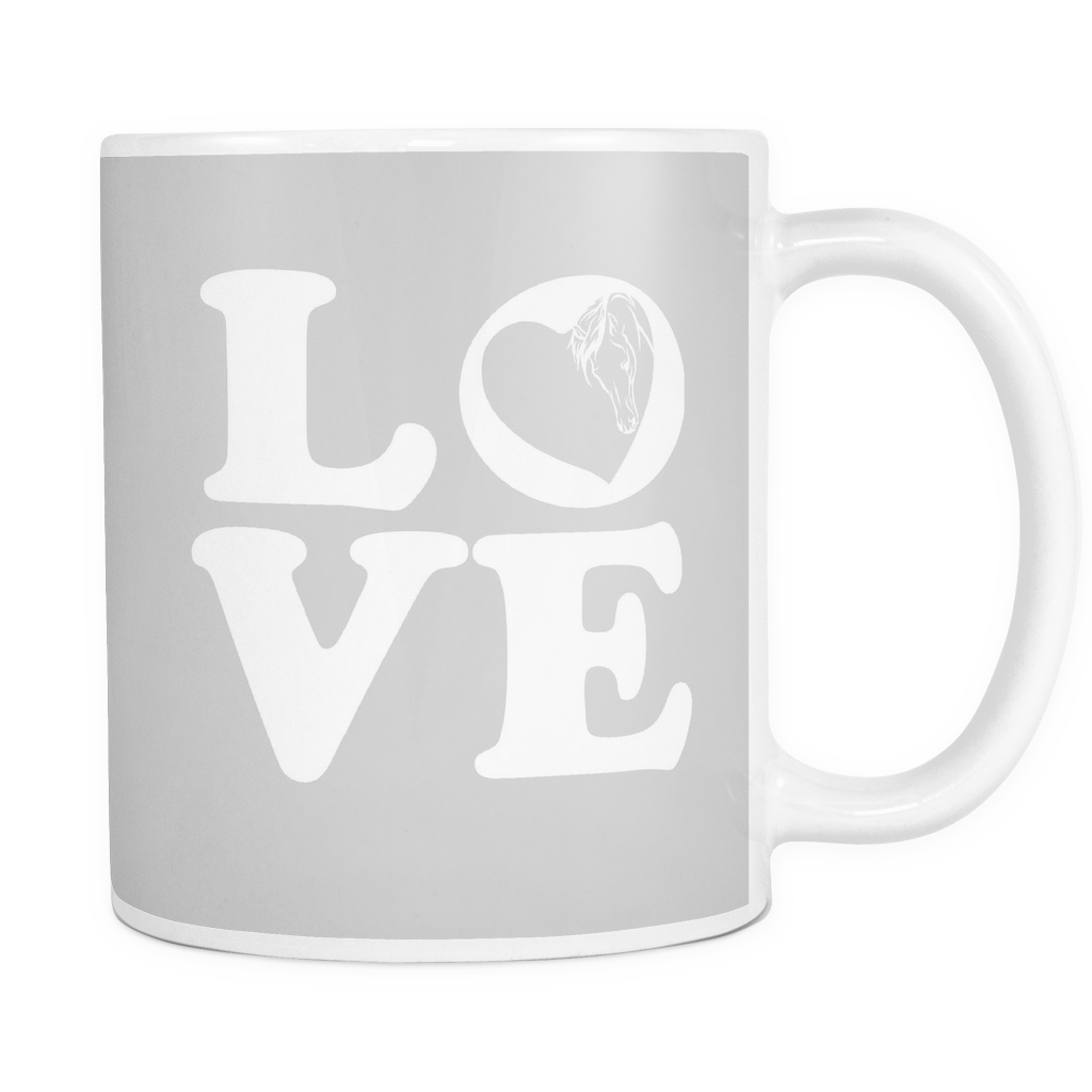 Horse Love Mug Colored
