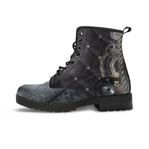 Steampunk Quilted Boots (Men's) - Hello Moa