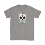 Green Sugar Skull Tee - Hello Moa