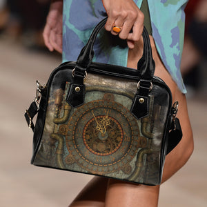 Rust Clock Steampunk Handbag - Hello Moa
